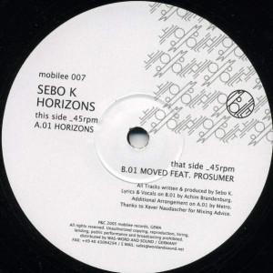 Sebo K - Horizons - Mobilee - mobilee 007