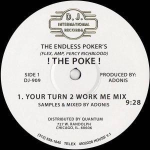The Endless Poker's - ! The Poke ! - D.J. International Records - DJ 909