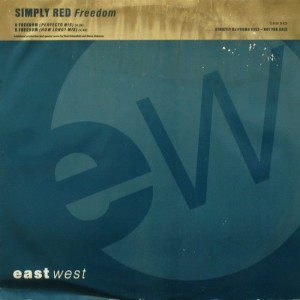 Simply Red - Freedom - EastWest - SAM 945