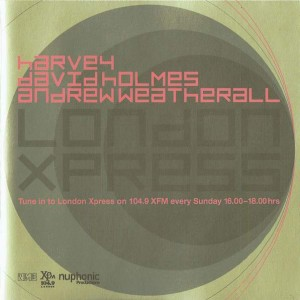 DJ Harvey / David Holmes / Andrew Weatherall - London Xpress - New Musical Express - NMELONDON01, Nuphonic - NMELONDON01