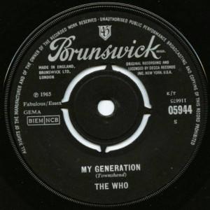 The Who - My Generation - Brunswick - 05944