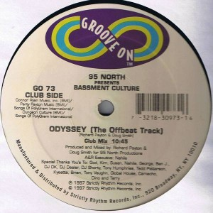 95 North Presents Basement Culture - Odyssey (The Offbeat Track) - Groove On - GO-73