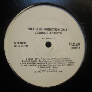 Various - WEA Club Promotion Only - WEA - SAM 238