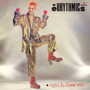 Eurythmics - Right By Your Side - RCA - DAT 4