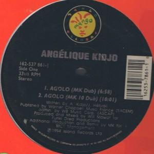Angélique Kidjo - Agolo - Mango - 162-537 861-1