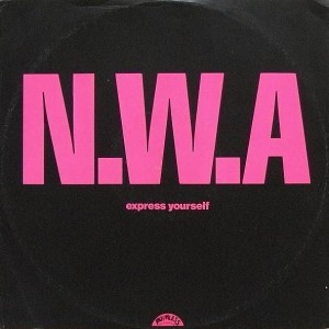 N.W.A. - Express Yourself - 4th & Broadway - 12 BRW 144, Ruthless Records - 12 BRW 144, Priority Records - 12 BRW 144