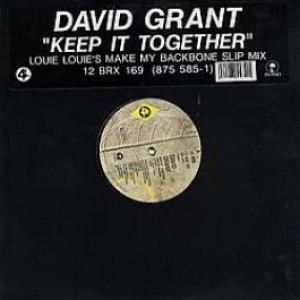 David Grant - Keep It Together - 4th & Broadway - 12 BRX 169, Island Records - 875 585-1