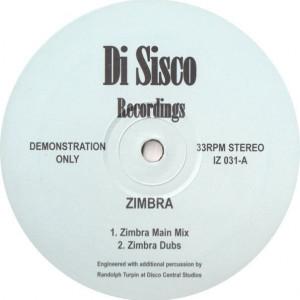 Unknown Artist - Zimbra - Di Sisco Recordings - IZ 031