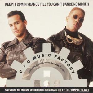 C + C Music Factory Featuring Q-Unique & Deborah Cooper - Keep It Comin' (Dance Till You Can't Dance No More!) - Columbia - 44 74431