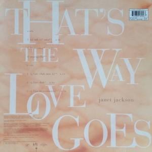 Janet Jackson - That's The Way Love Goes - Virgin - VST 1460, Virgin - 7243 8 91895 6 8