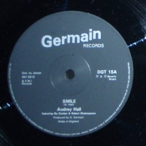 Audrey Hall - Smile - Germain Records - DGT 15