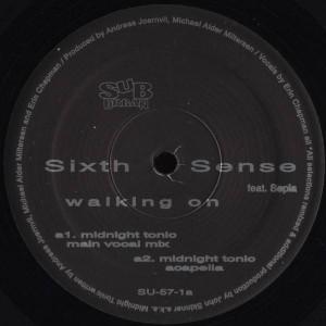 Sixth Sense Feat. Sepia - Walking On - Sub-Urban - SU-57-1