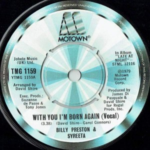 Billy Preston & Syreeta - With You I'm Born Again (Vocal) - Motown - TMG 1159