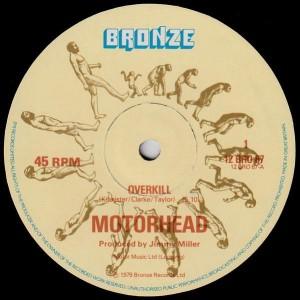 Motörhead - Overkill - Bronze - 12 BRO 67