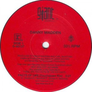 Danny Madden - The Facts Of Life - Giant Records - 0-40137