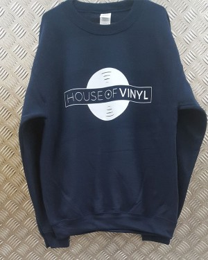 House of Vinyl Sweatshirt 2018 Navy