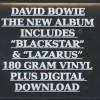 David Bowie - ★ (Blackstar) - ISO Records - 88875173871, Columbia - 88875173871, Sony Music - 88875173871 S1