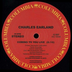 Charles Earland - Coming To You Live - Columbia - AS 885P