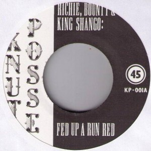 Various - Fed Up A Run Red / Sen On Di Ganja Smoke - Knut Posse - KP-001