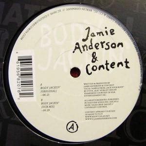 Jamie Anderson & Content - Body Jackin' - International Deejay Gigolo Records - GIGOLO 207