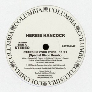 Herbie Hancock - Stars In Your Eyes / Saturday Night - Columbia - AS756814P