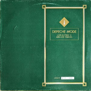 Depeche Mode - Love In Itself · 2 And Live Tracks - Mute - L12 BONG 4