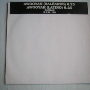Fatman - Awooyah - AVM Records - FATMAN 001