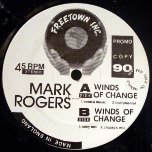 Mark Rogers - Winds Of Change - Freetown Inc - FTI 003 T