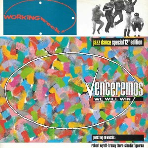 Working Week - Venceremos (We Will Win) - Paladin Records - VS 684-12, Virgin - VS 684-12
