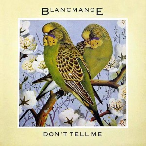Blancmange - Don't Tell Me - London Records - BLANX 7, London Records - 820 035-1