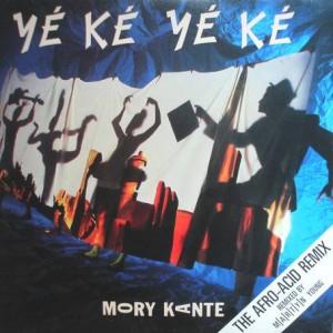 Mory Kanté - Yé Ké Yé Ké (Afro Acid Remix) - London Records - LONX 171