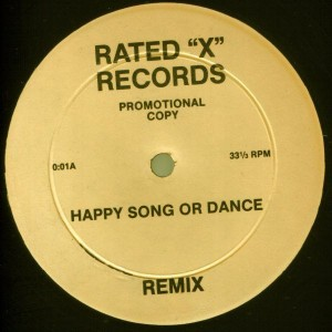 "Rare Earth / Visage - Happy Song Or Dance (Remix) / Pleasure Boys (Remix) - Rated ""X"" Records - 0:01"