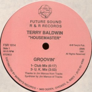 Terry Baldwin - Groovin' - Future Sound R & R Records - FSR 1014