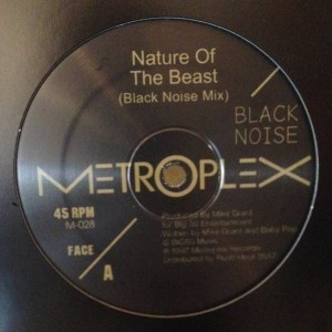 Black Noise - Nature Of The Beast - Metroplex - M-028