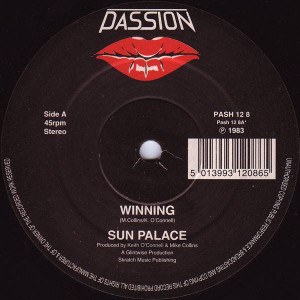 Sun Palace - Winning / Rude Movements - Passion Records - PASH 12 8