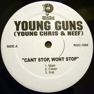 Young Gunz - Can't Stop, Won't Stop - Roc-A-Fella Records - ROC-1004