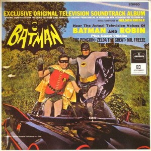 Nelson Riddle - Batman (Exclusive Original Television Soundtrack Album) - Mercury - BATMN 1, 20th Century Fox Records - BATMN 1, Phonogram - 834 908-1