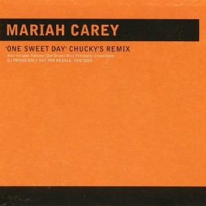Mariah Carey - One Sweet Day (Chucky's Remix) - Columbia - XPR 2270, The Dance Division - XPR 2270