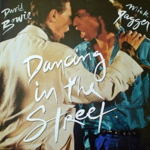 David Bowie And Mick Jagger - Dancing In The Street - EMI America - 12EA 204