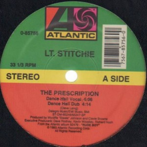 Lieutenant Stitchie - The Prescription - Atlantic - 0-85756
