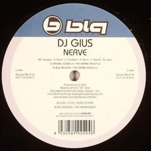 DJ Gius - Nerve - Blq Records - BLQ 054