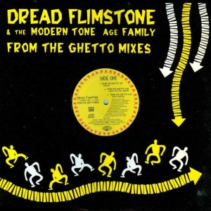 Dread Flimstone And The Modern Tone Age Family - From The Ghetto Mixes - Scotti Bros. Records - 72392-75289-1