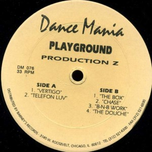 Playground Productionz - Vertigo - Dance Mania - DM 076