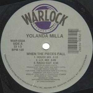 Yolanda Milla - When The Pieces Fall - Warlock Records - WAR-032