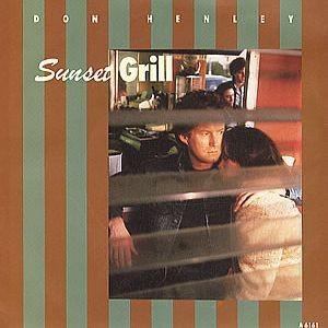 Don Henley - Sunset Grill - Geffen Records - TA 6161
