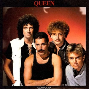 Queen - Radio Ga Ga - EMI - QUEEN 1