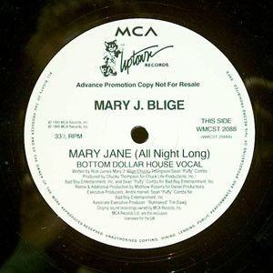 Mary J. Blige - Mary Jane (All Night Long) - MCA Records - WMCST 2088