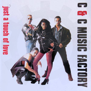 C + C Music Factory - Just A Touch Of Love - Columbia - 44 74032, Columbia - 44-74032