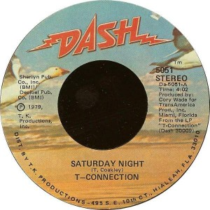 T-Connection - Saturday Night - Dash - 5051