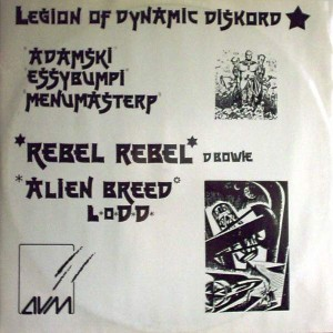 Legion Of Dynamic Diskord - Rebel Rebel - AVM Records - KAK 12/11